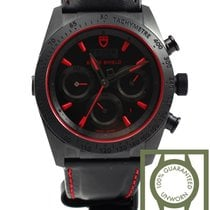 Tudor Fastrider Black Shield Red NEW