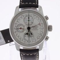 Zeno-Watch Basel De Luxe Chronograph Full Calendar Moonphase NEW