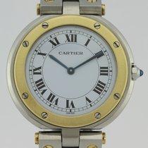 Cartier SANTOS RONDE LADY GOLD & STEEL