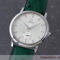 Omega De Ville Handaufzug Herrenuhr Edelstahl 125.0050