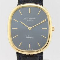 Patek Philippe Ellipse Jumbo Quartz Gold 3838