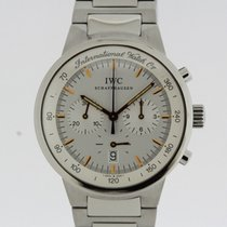 IWC GST Chronograph Watch 3727 from 1998 TRITIUM Dial