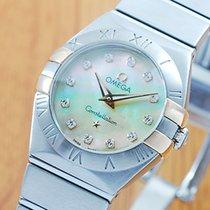 Omega Constellation Diamonds Pearl Women's Watch