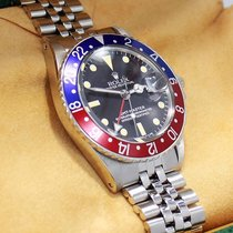 Rolex Gmt Master Pepsi 1675 Blue/red 40mm Steel Jubille 2...