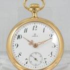 Omega Damentaschenuhr 14ct. gold um 1900