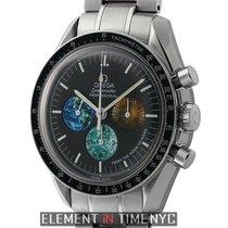 Omega Speedmaster Moon To Mars Stainless Steel 42mm Black Dial...