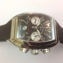 Franck Muller Conquistador King ref.8002 CC and steel