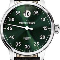 Meistersinger Salthora Meta Green Dial