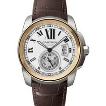 Cartier Calibre de Cartier Diver Mens 42mm Automatic 2 Tone
