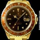Rolex 16758 Gmt Master Havana Brown 18k Automatic