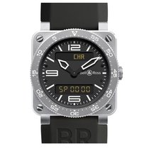 Bell & Ross Aviation Type Aviation Steel BR 03