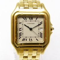 Cartier Tank Panthere GM Gelbold Quarz