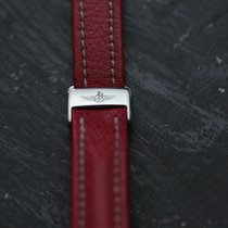 Breitling Leather Watchstrap Length: 17cm Width: 15 mm