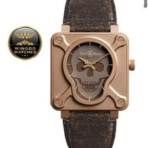 Bell & Ross - R01 Skull Bronze Limited Edition New-Full Set