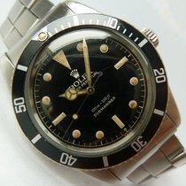 Rolex 1960 Submariner 5508 Mirror James Bond Exclamation Gilt...