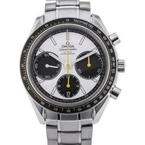 Omega Speedmaster Racing Co-Axial Chronograph 40 Yellow Details