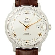 Omega De Ville Stainless Steel White Automatic 424.13.40.20.02...