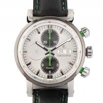 Chronoswiss Pacific Green Stahl Automatik Chronograph Armband...
