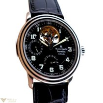 Blancpain Leman Tourbillon Automatic Stainless Steel Men`s Watch