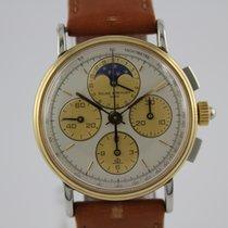 Baume & Mercier NOS Vintage Mondphase Chronograph #A3135...
