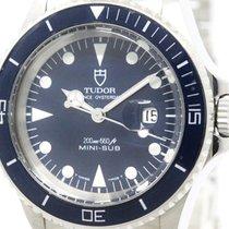 튜더 (Tudor) Polished  Rolex Mini-sub Steel Automatic Watch...