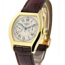Cartier W1543551 Tortue - Chronograph Monopoussoir - Yellow...