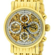Chronoswiss Opus Skeleton 18K Yellow Gold