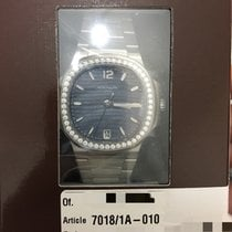 Patek Philippe 7018/1A Steel Nautilus Blue Mother of Pearl [NEW]