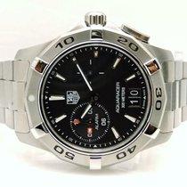 TAG Heuer Men's WAP111Z.BA0831 Aquaracer Black Dial Watch...