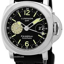 "Panerai Gent's Stainless Steel 44mm  ""Luminor GMT""..."