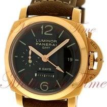 "Panerai Luminor 1950 8-Day GMT ""Oro Rosa"", Brown Dial,..."