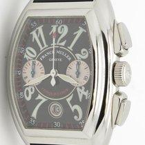 Franck Muller Conquistador 8005 Cc Chronograph Steel Automatic...
