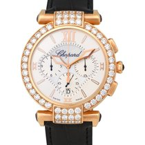 Chopard 18K R/G Imperiale 40MM Diamond Chronograph Ladies...