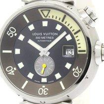 Louis Vuitton Polished Louis Vuitton Tambour Diver Steel...