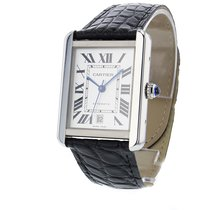 Cartier Tank Solo Automatic Date Mens watch W5200027