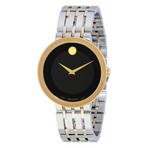 Movado Esperanza Black Museum Mens Watch 607058