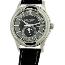 "Patek Philippe Gent's 18K White Gold  # 5205 ""Annual..."