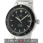 IWC Aquatimer Collection 2000 GST Stainless Steel Black Dial ...