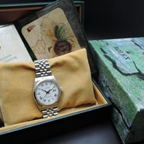 Rolex DATEJUST 16014 SS Original White Buckley Dial with Paper