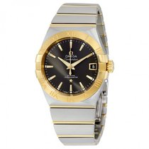 Omega Men's 12320382106001 Constellation Co-Axial Grey Watch
