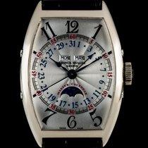 Franck Muller 18k W/G Silver Dial Master Calendar Lunar...