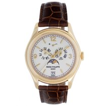 Patek Philippe Annual Calendar Yellow Gold Men's Moonphase...