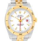 Rolex Datejust Turnograph Steel 18k Yellow Gold Watch 116263...