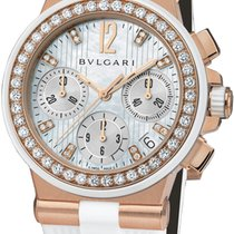 Bulgari Diagono Chronograph 35mm dgp35wgdwvdch/8