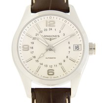 Longines Conquest Stainless Steel Silver Automatic L2.799.4.76.3