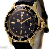 Rolex Vintage Submariner Ref-1680 18k Yellow Gold Nipple Dial...