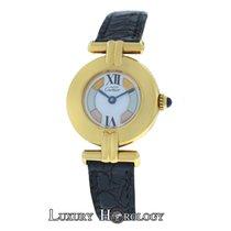 Cartier Must de   Colisee Paris Vermeil 590002 Gold Plate Silver