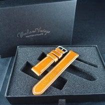 勞力士 (Rolex) Vintage Handmade Italian Leather Strap - Amber