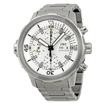 IWC Aquatimer Chronograph Silver Dial Stainless Steel Men'...