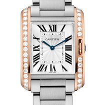 Cartier- Tank Anglaise Mittlers Modell, Ref. W3TA0003